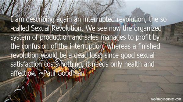 Paul Goodman Quotes
