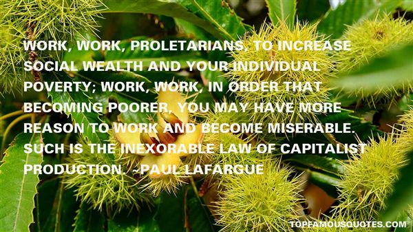 Paul Lafargue Quotes