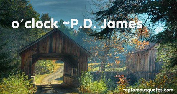 P.D. James Quotes