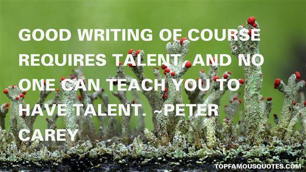 Peter Carey Quotes