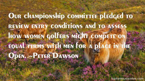 Peter Dawson Quotes