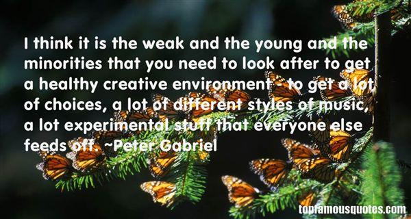 Peter Gabriel Quotes