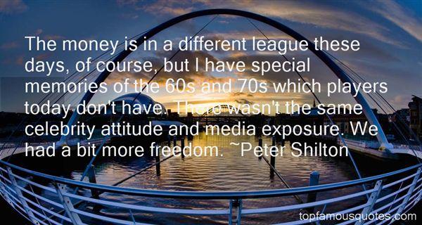 Peter Shilton Quotes