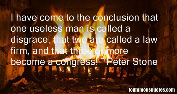 Peter Stone Quotes