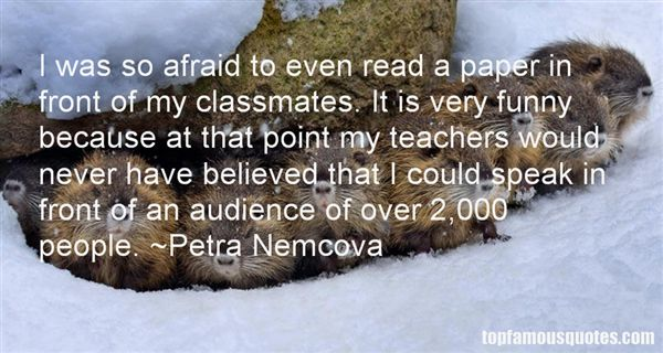 Petra Nemcova Quotes