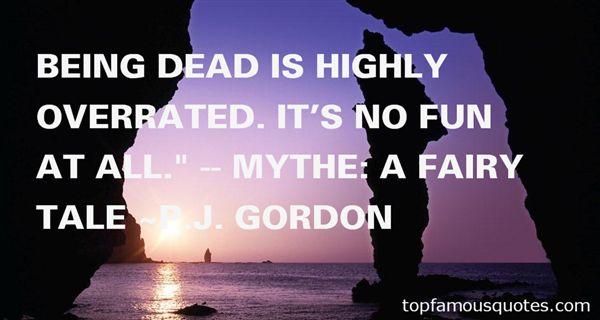 P.J. Gordon Quotes