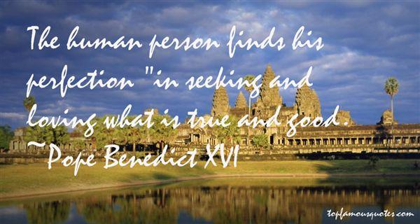 Pope Benedict XVI Quotes