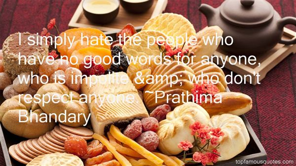 Prathima Bhandary Quotes