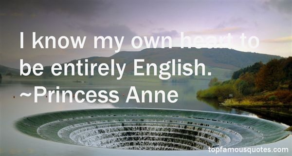 Princess Anne Quotes