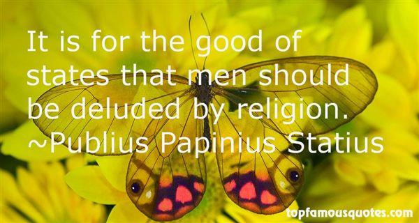 Publius Papinius Statius Quotes