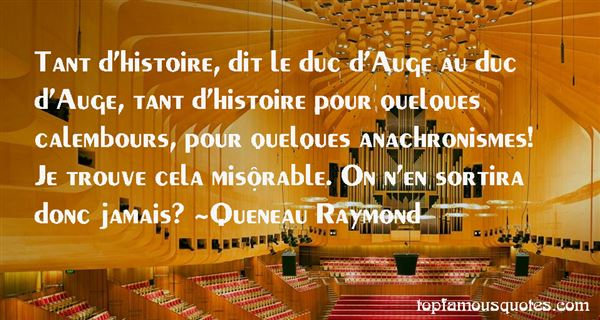Queneau Raymond Quotes