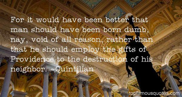 Quintilian Quotes