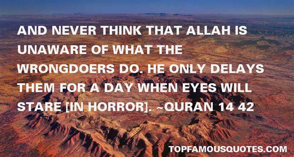 Quran 14 42 Quotes
