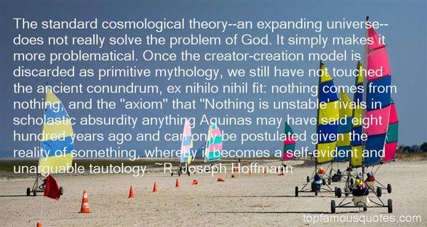 R. Joseph Hoffmann Quotes
