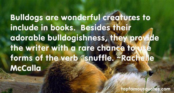 Rachelle McCalla Quotes