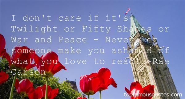 Rae Carson Quotes