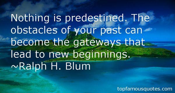 Ralph H. Blum Quotes