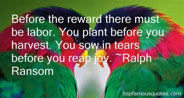 Ralph Ransom Quotes