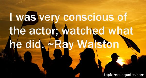 Ray Walston Quotes