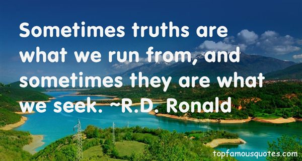 R.D. Ronald Quotes