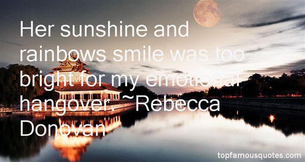 Rebecca Donovan Quotes