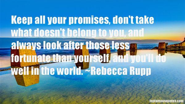 Rebecca Rupp Quotes