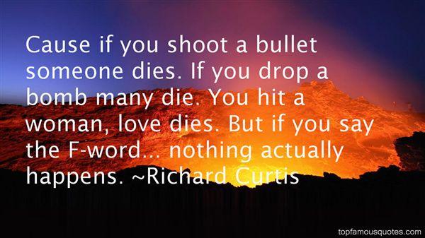 Richard Curtis Quotes
