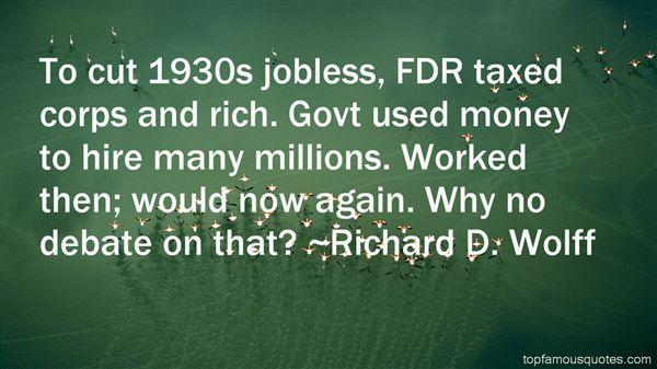 Richard D. Wolff Quotes