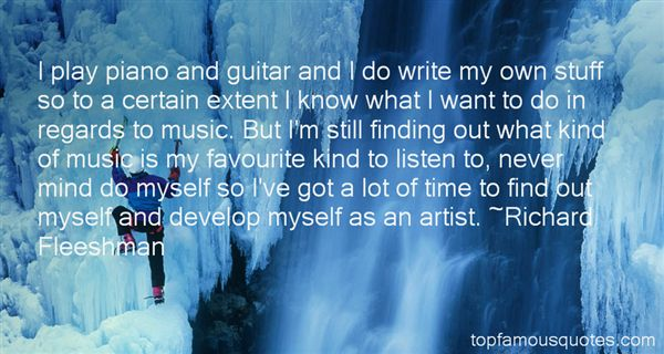Richard Fleeshman Quotes