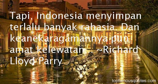 Richard Lloyd Parry Quotes