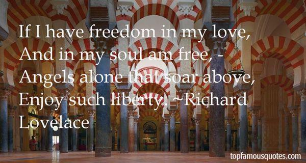 Richard Lovelace Quotes