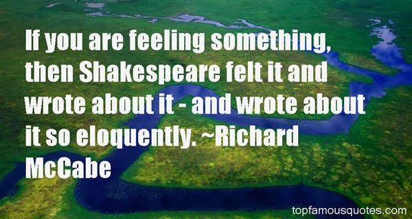 Richard McCabe Quotes