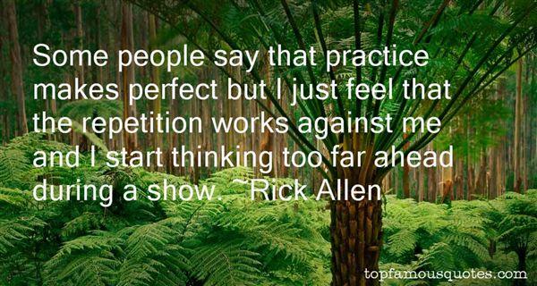 Rick Allen Quotes
