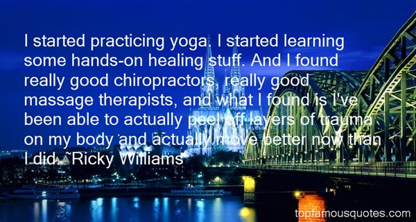 Ricky Williams Quotes