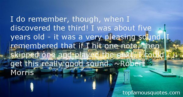 Robert Morris Quotes