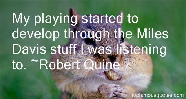 Robert Quine Quotes