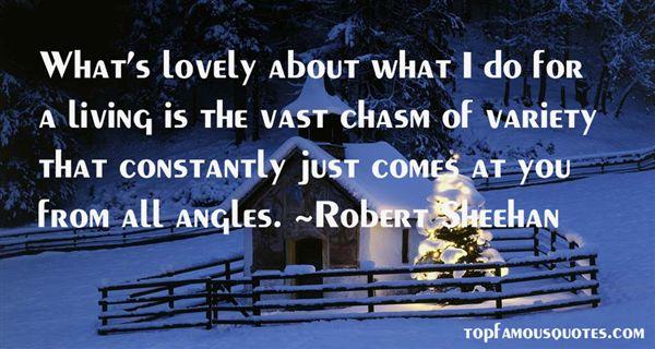 Robert Sheehan Quotes