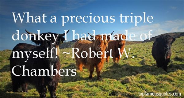 Robert W. Chambers Quotes
