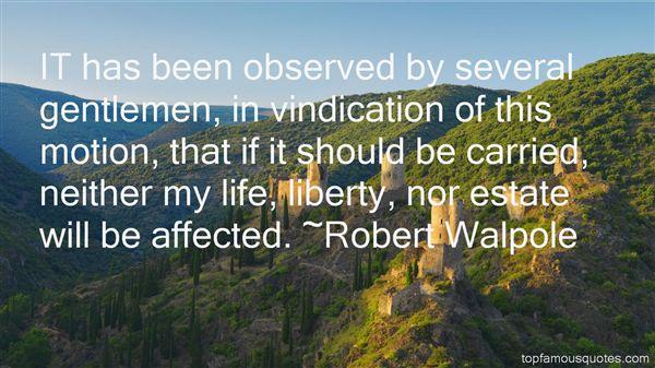 Robert Walpole Quotes