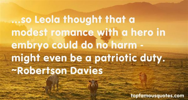 Robertson Quotes Robertson Davies Quotes