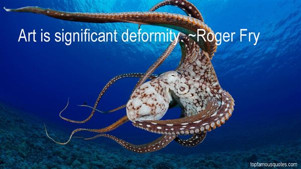 Roger Fry Quotes