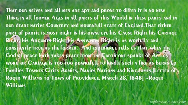 Roger Williams Quotes
