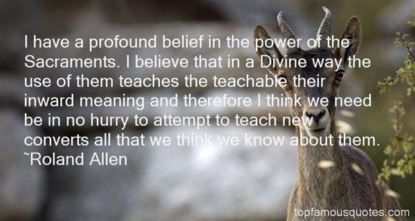 Roland Allen Quotes