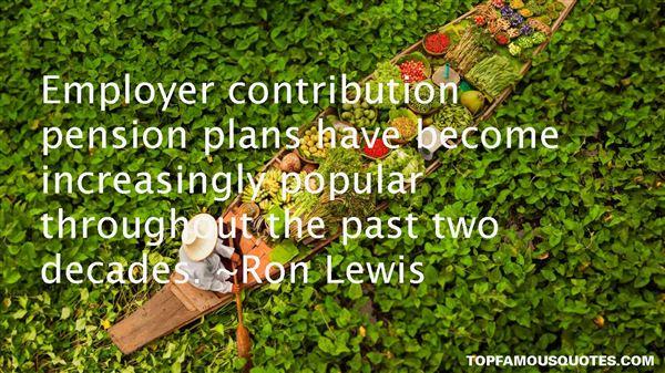 Ron Lewis Quotes