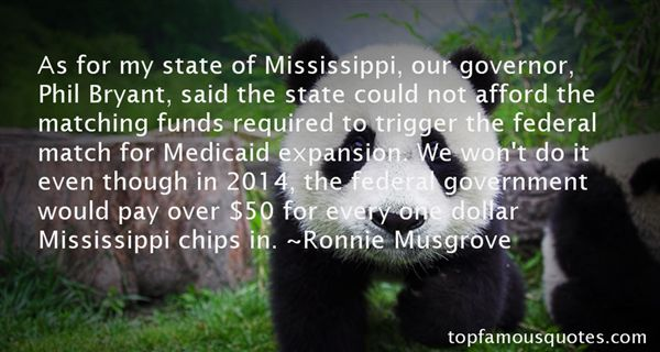 Ronnie Musgrove Quotes