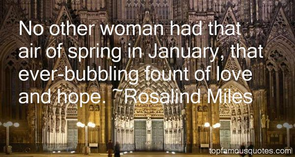Rosalind Miles Quotes