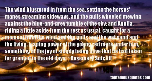 Rosemary Sutcliff Quotes