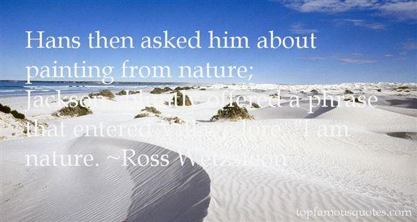 Ross Wetzsteon Quotes