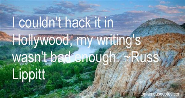 Russ Lippitt Quotes