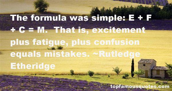 Rutledge Etheridge Quotes